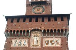 Castello Sforzesco Front Tower