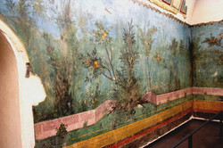 Interior of Emperor Augustus' Home
