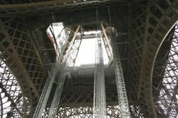 Bottom of Eiffel Tower