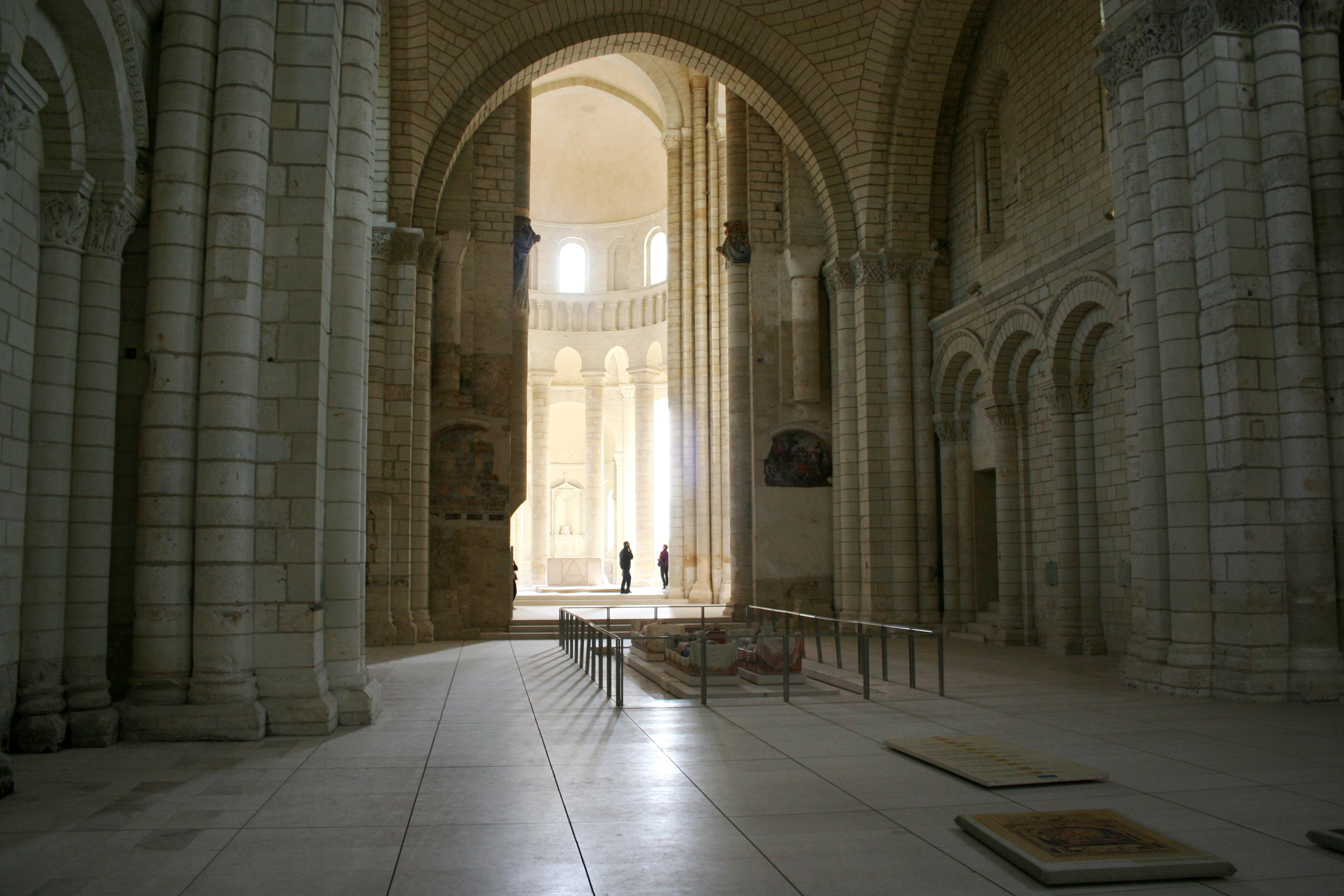 Fontevraux Abbey Interior