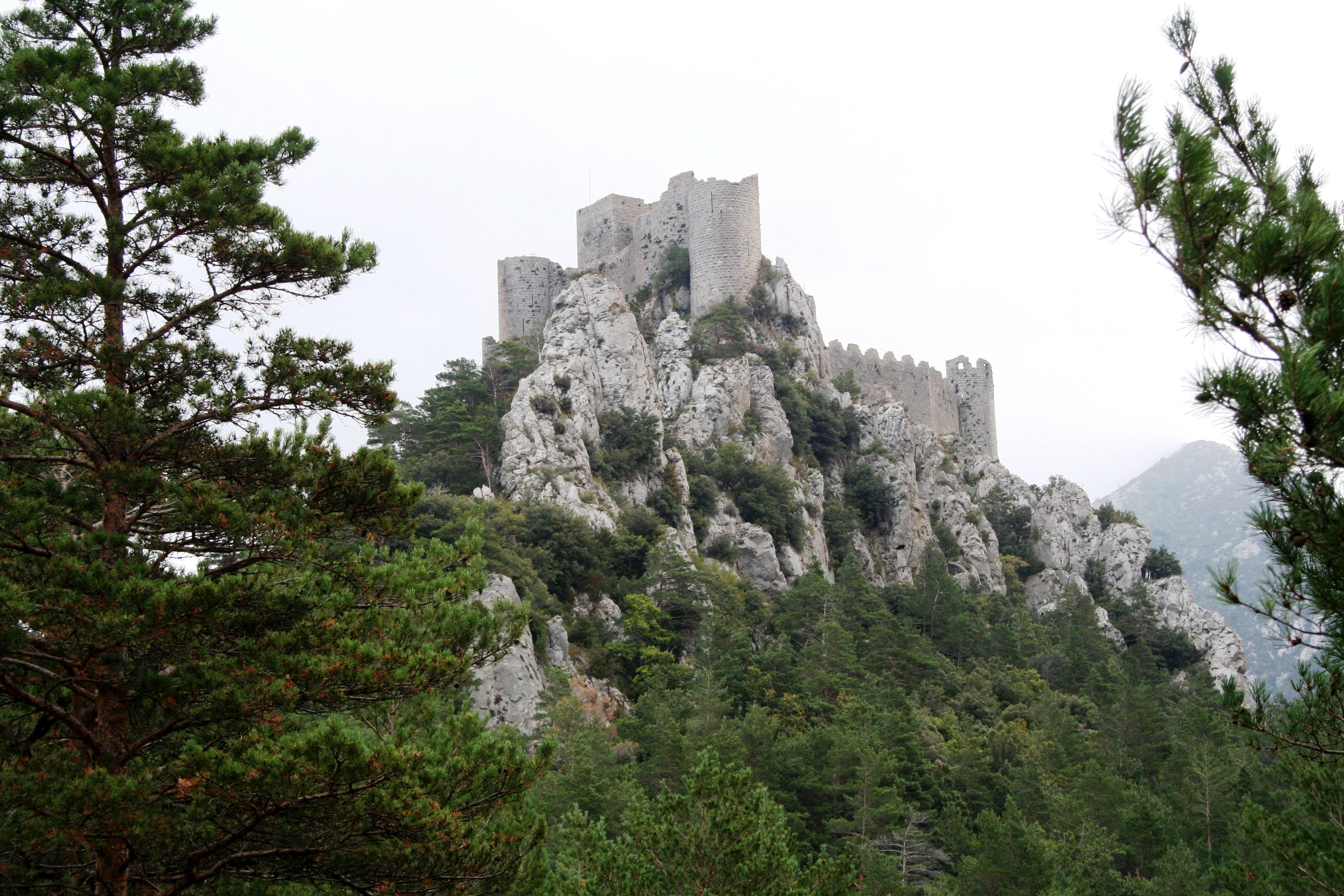 Cathar Castle Puilarens