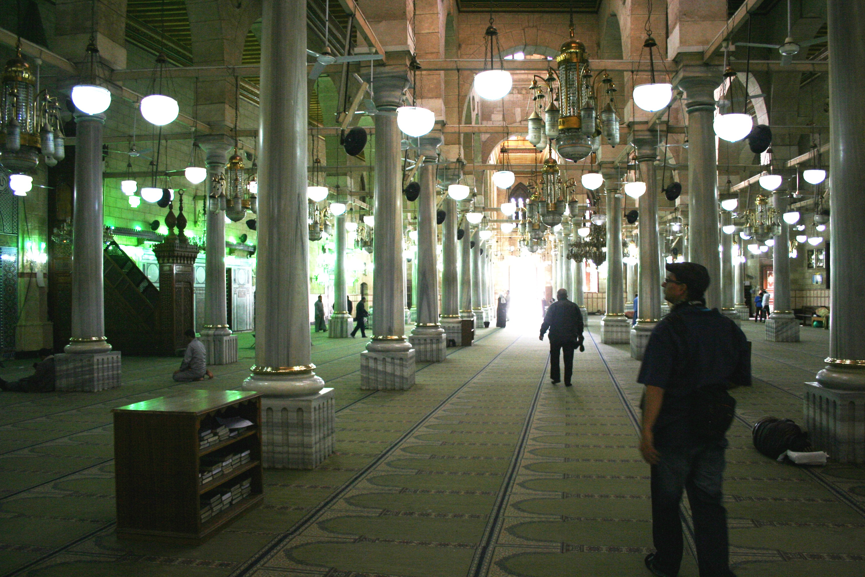 Al-Hussein Mosque Interior