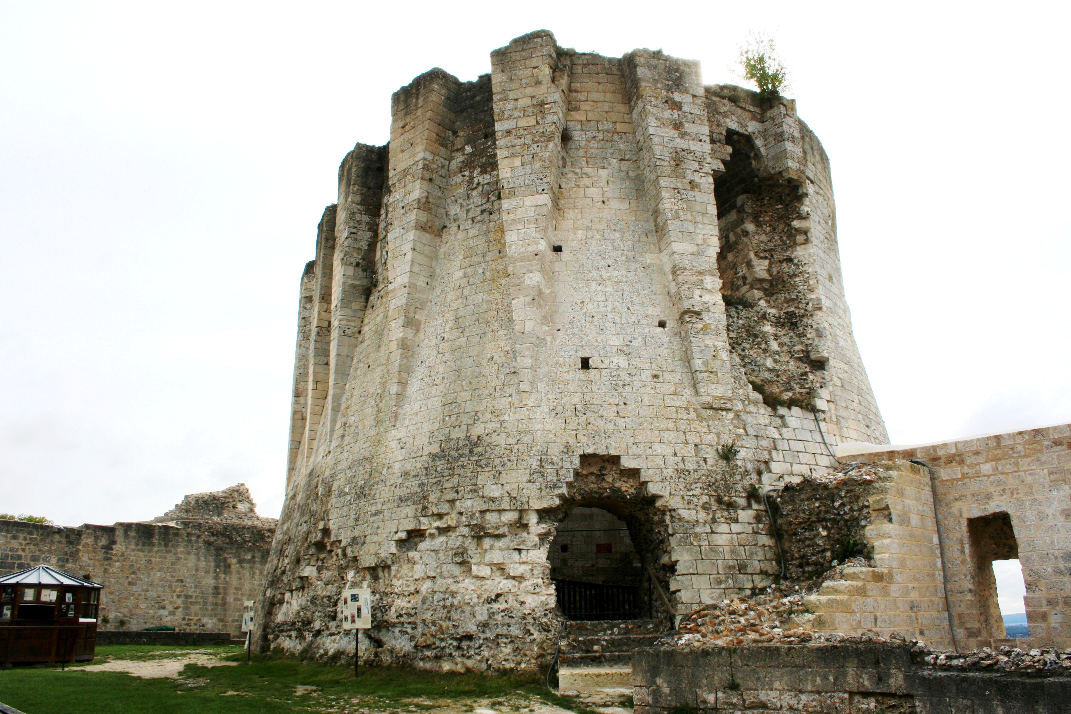 Chateau Gaillard Main Keep