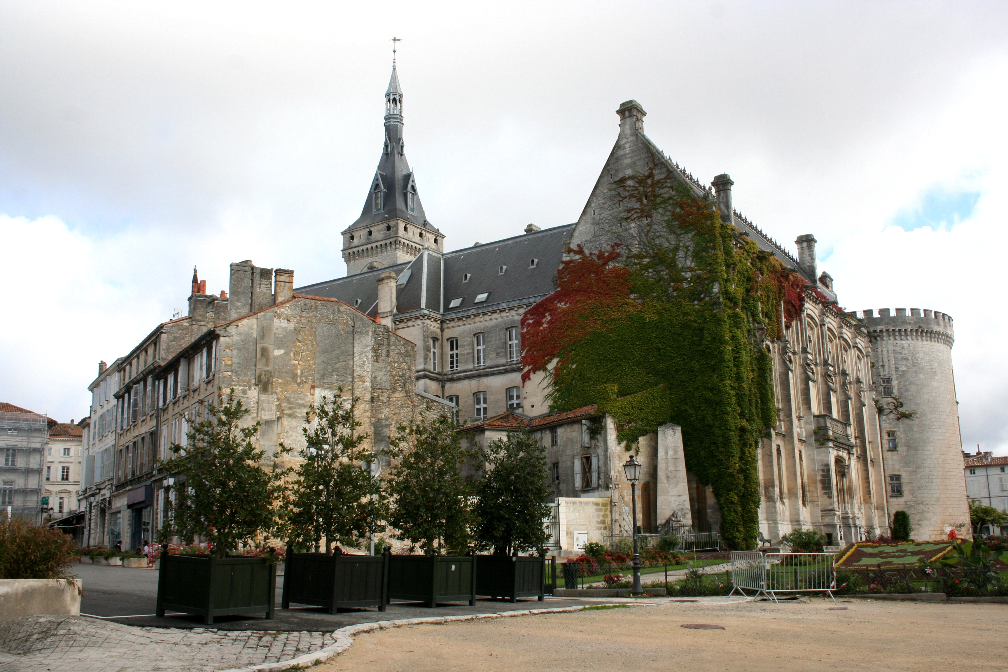 Back of Angouleme Town Hall