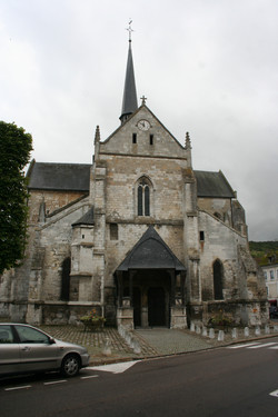 Church of St Sauveur in Les Andelys