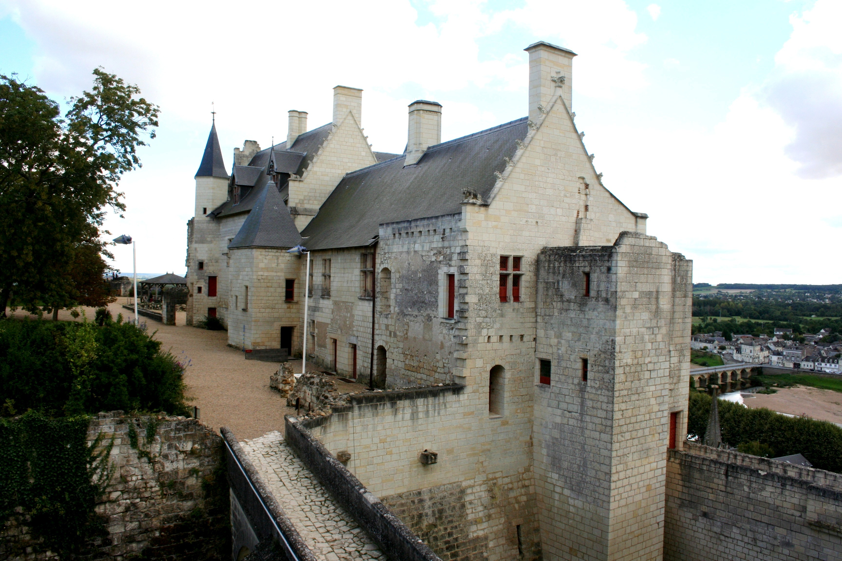 Chinon Castle Living Quarters