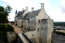 Chinon Castle Living Quarters