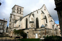 Back of Church of St Andre