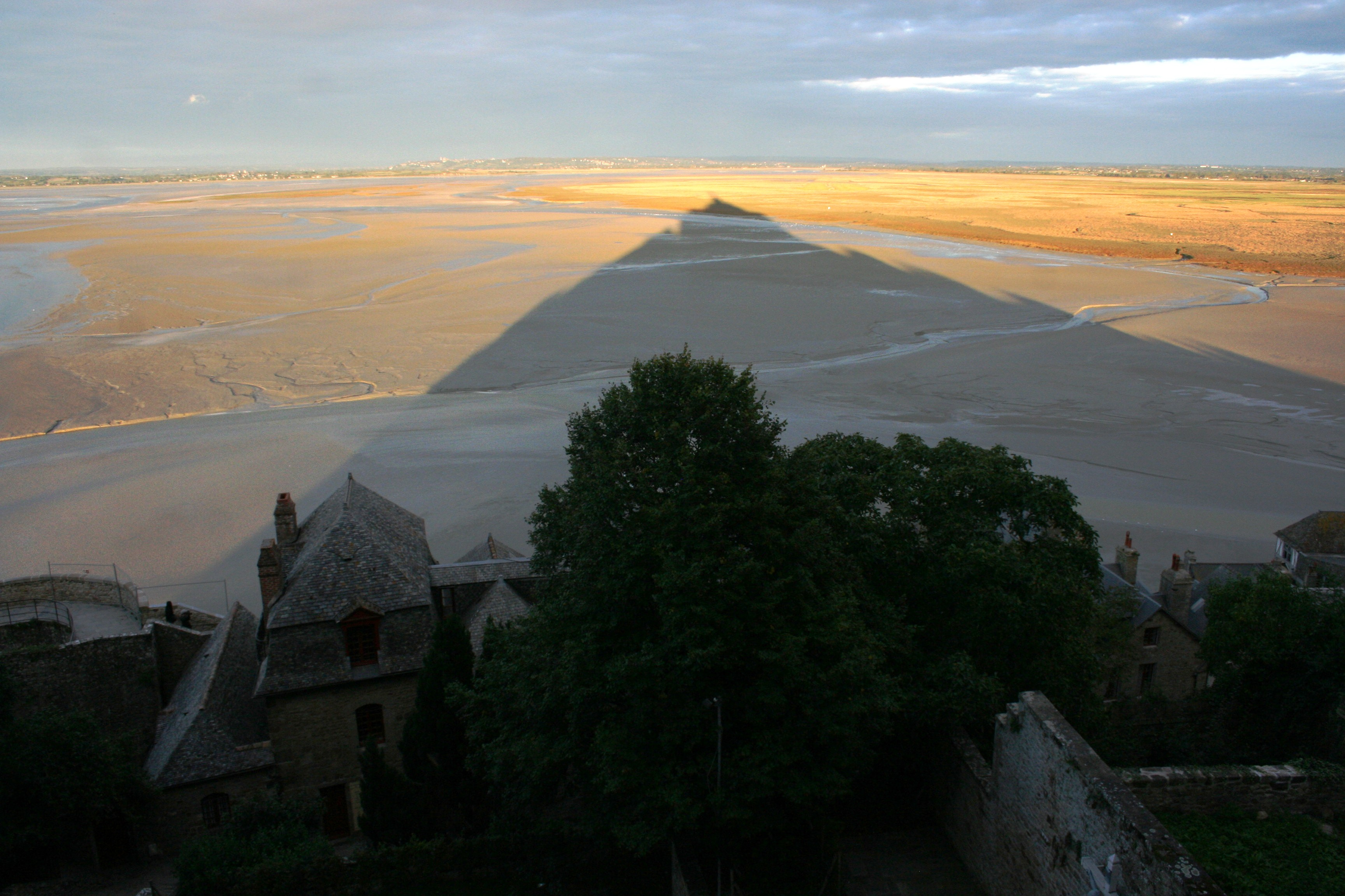 Sunset at Mont St Michel