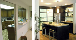 AUC - Kitchen 1 - before and after