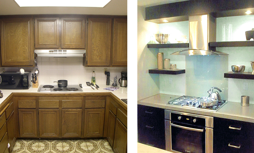 AUC - Kitchen 2 - before and after