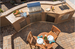 Carriage House - Outdoor Kitchen