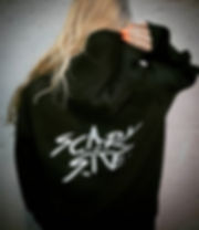 SCARY SITE BACKPRINT HOODIE
