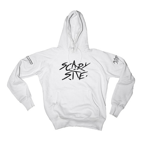 Scary Site White Hoodie  | 79 € |