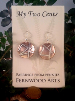My Two Cents Earrings