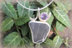 Amethyst Beach Stone