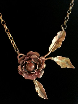 Copper Rose with Jasper
