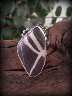 Beach Stone Ring