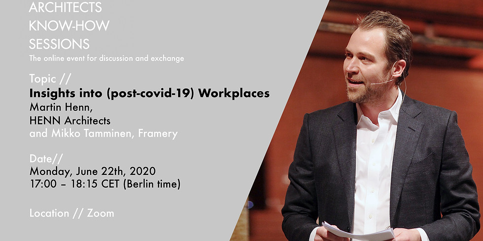 Insights into (post-covid-19) Workplaces