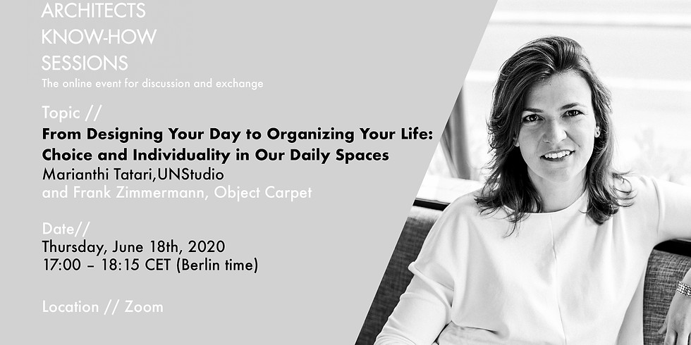 From Designing Your Day to Organizing Your Life: Choice and Individuality in Our Daily Spaces