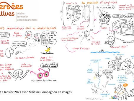 Oser les Pratiques Narratives dans les Organisations en mots et en images