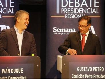 Elecciones trágicas, votación prospectiva, retrospectiva y polarización en Colombia