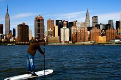 Paddling in New York