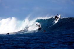 Surfing Cloudbreak