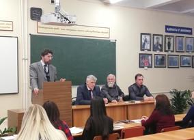 Заседание школы молодого адвоката имени Ф.Н. Плевако