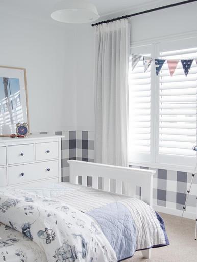 Creating a boys bedroom