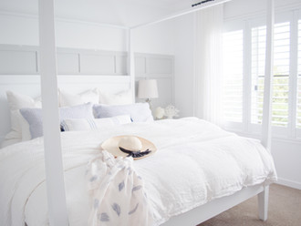 HOW TO STYLE YOUR BED Try a simple pillow refresh. Here's how.