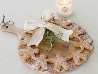 OUR HOLIDAY GINGERBREAD WREATH