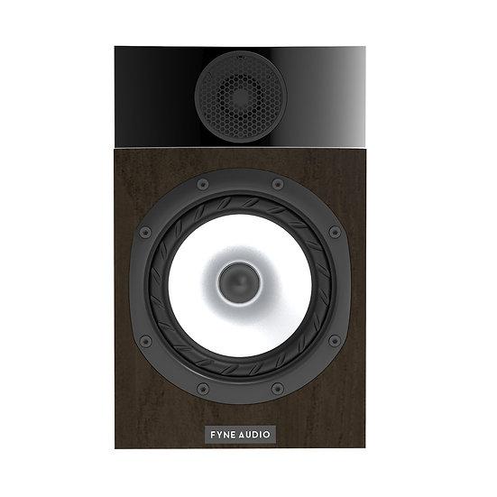Fyne Audio F300 walnut front
