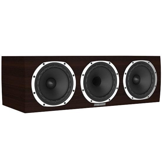 Fyne Audio F500C dark oak front og side