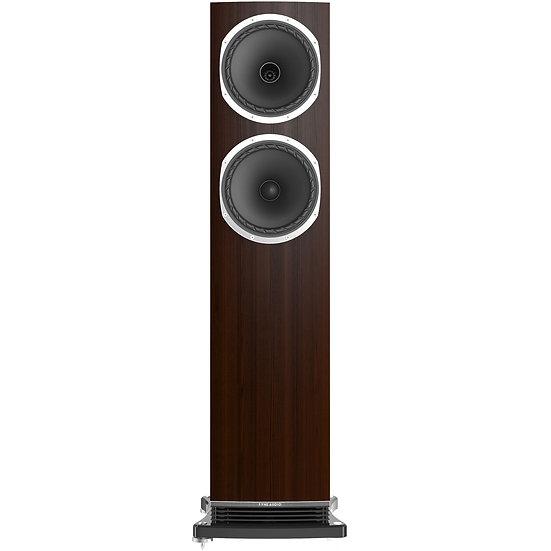Fyne Audio F502 dark oak front