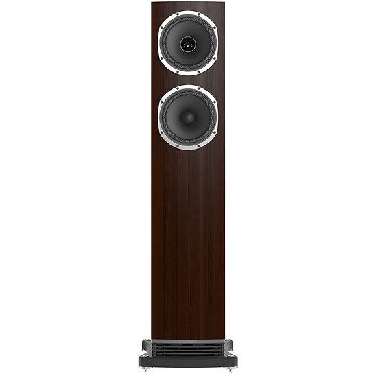 Fyne Audio F501 dark oak front