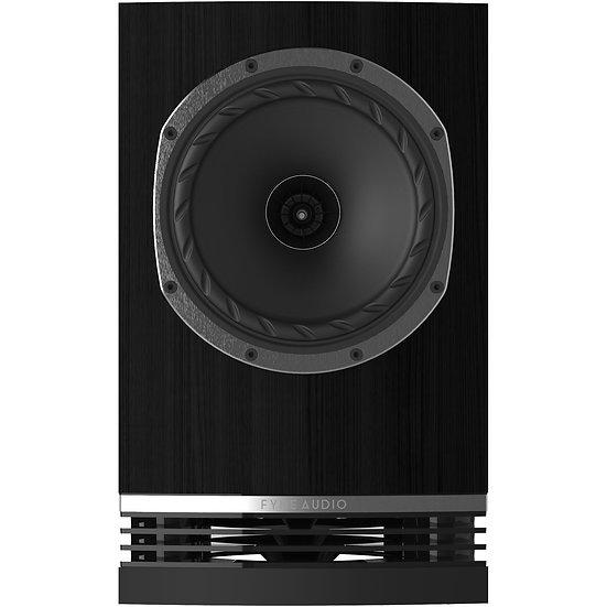 Fyne Audio F500 black oak front