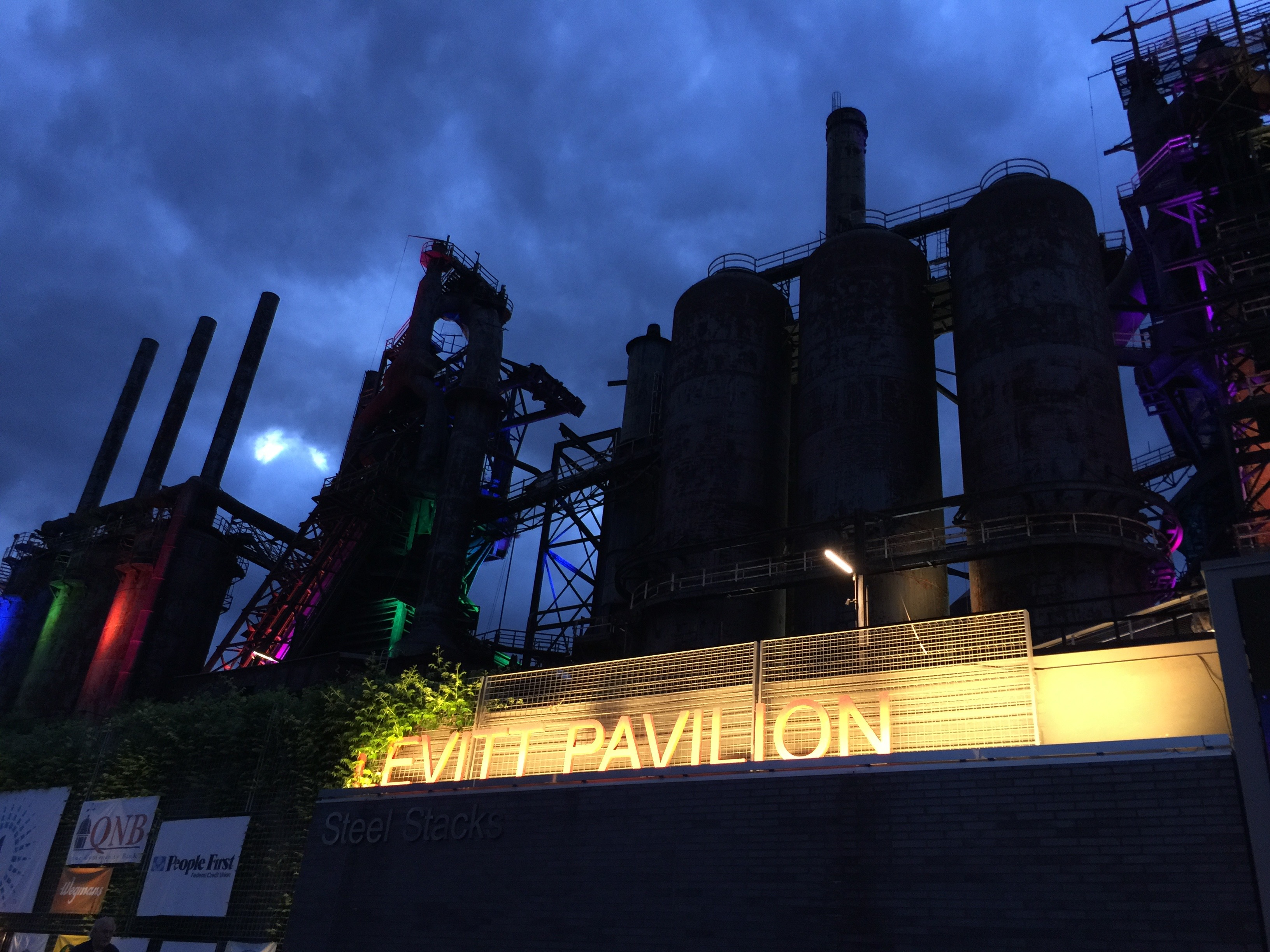 Steel Stacks - Levitt Pavilion