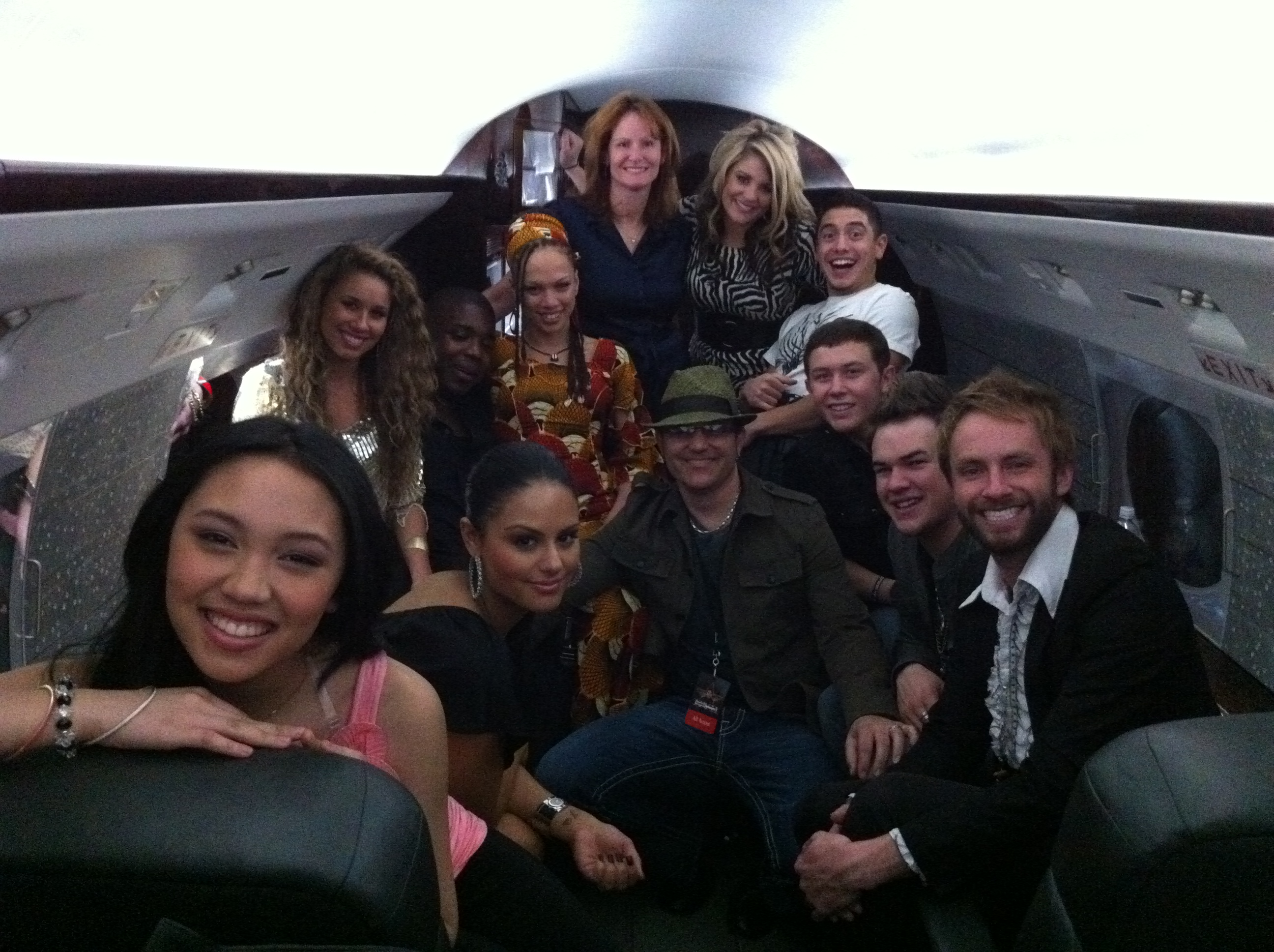 Ken & American Idol Season 10 cast