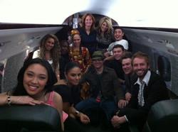 Ken & American Idol Season 10 cast