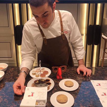 Asia's Best Pastry Chef 2019 Fabrizio Fiorani x Carole Matthijsse