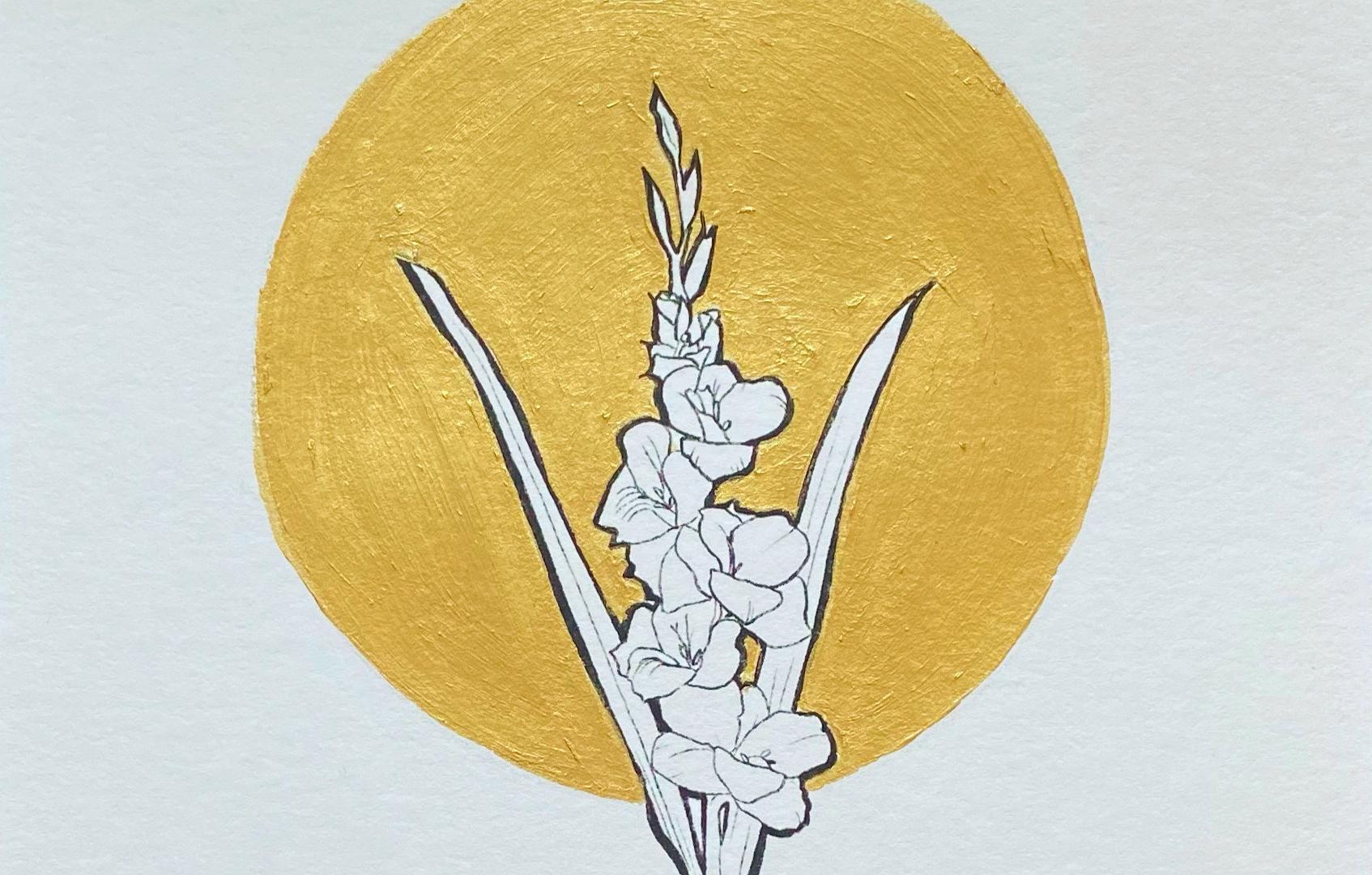 Geboortebloem Augustus - Gladiool door C