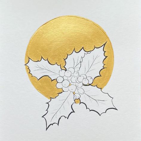 Geboortebloem December - Hulst door Carole Matthijsse