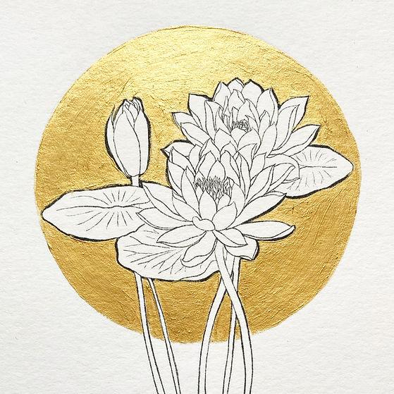 Geboortebloem Birthflower door Carole Ma
