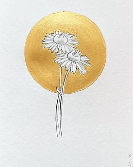Geboortebloem April door Carole Matthijs