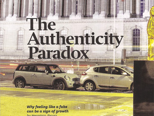 The Authenticity Paradox - Harvard Business Review Article