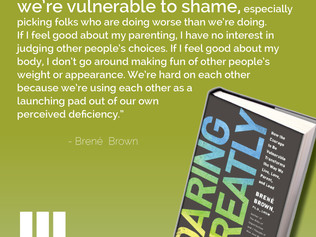 Daring Greatly - Week 5