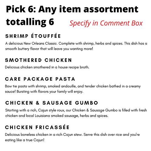 Cajun Meal Box