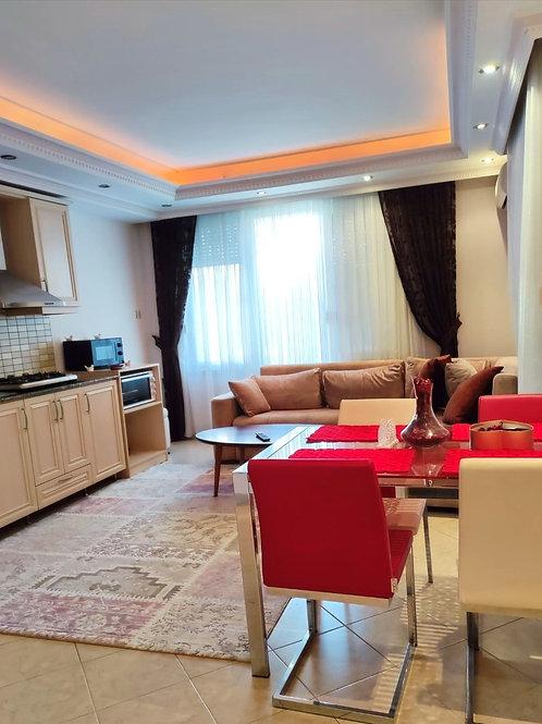 Апартаменты 2+1 в европейском комплексе (Оба)
