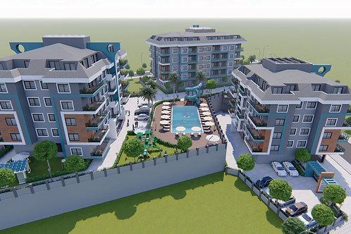 Новый инвестиционный проект - малоэтажный комплекс с курортной инфраструктурой